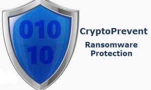 CryptoPrevent 8 – soluție de prevenire malware pentru Windows