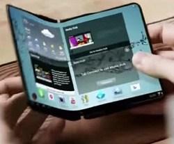 telefon pliabil Samsung