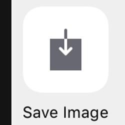 cum salvam pozele din e-mail - save image iOS
