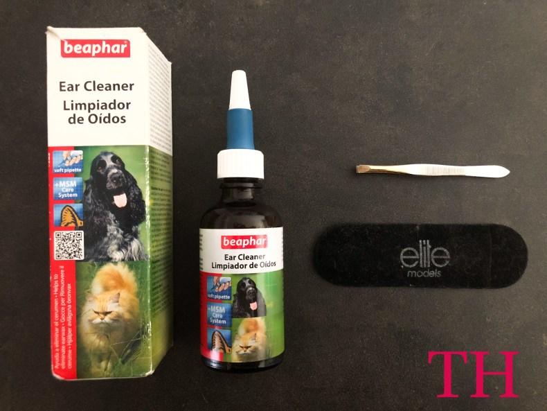 Aprende a limpiar los oídos a tu perro