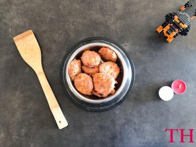 Hamburguesas de Pavo y Queso bajas en sal y calorías