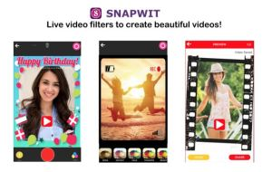 Snapwit- Latest Photo & Video Themes With Music