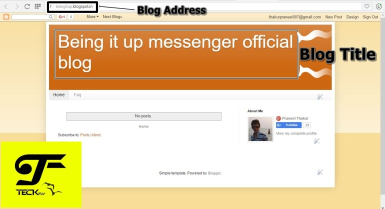 Blog-Website : How to Create a Blog-Website in Blogger [Complete-guide].