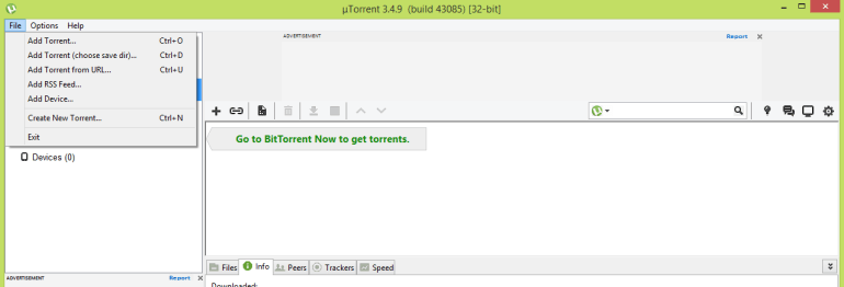 Create Your Own Torrent File Using uTorrent