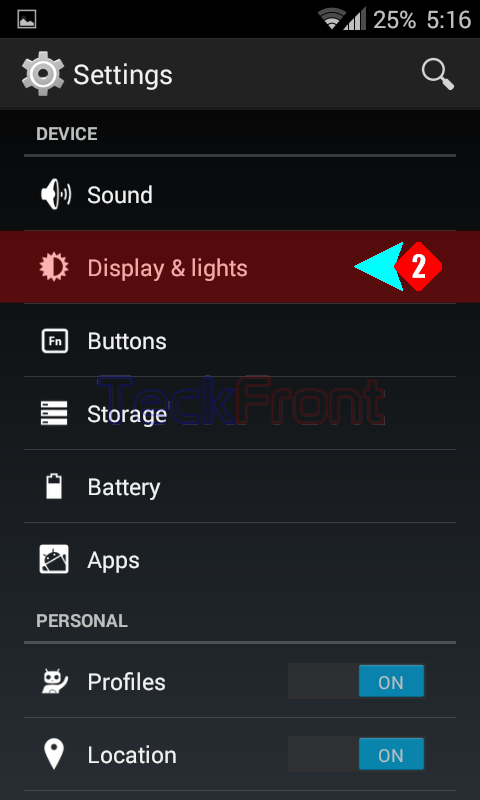 How to Set Font Size on the Android 4 4 4 KitKat Phone Screen?