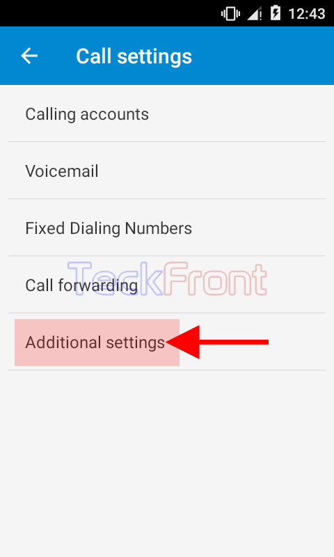 Setting Network Default Caller ID to Display in Android 5 1
