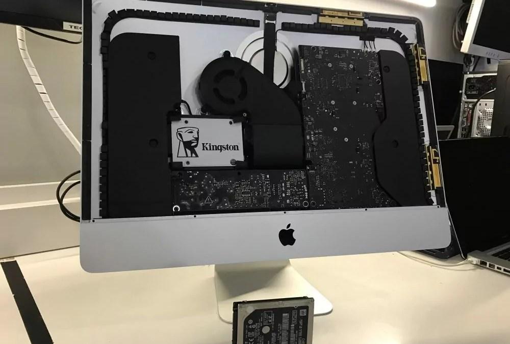 Mejora la velocidad de tu iMac con disco SSD