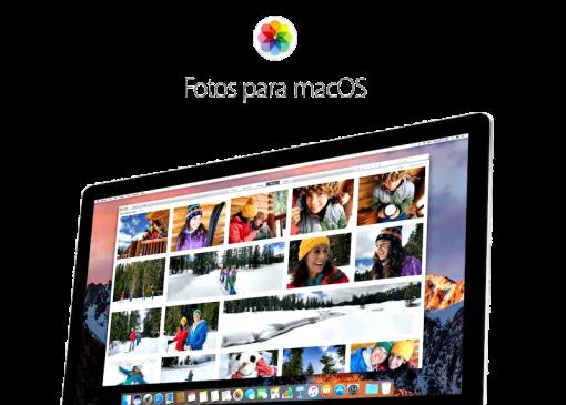 Curso de Fotos para macOS Sierra
