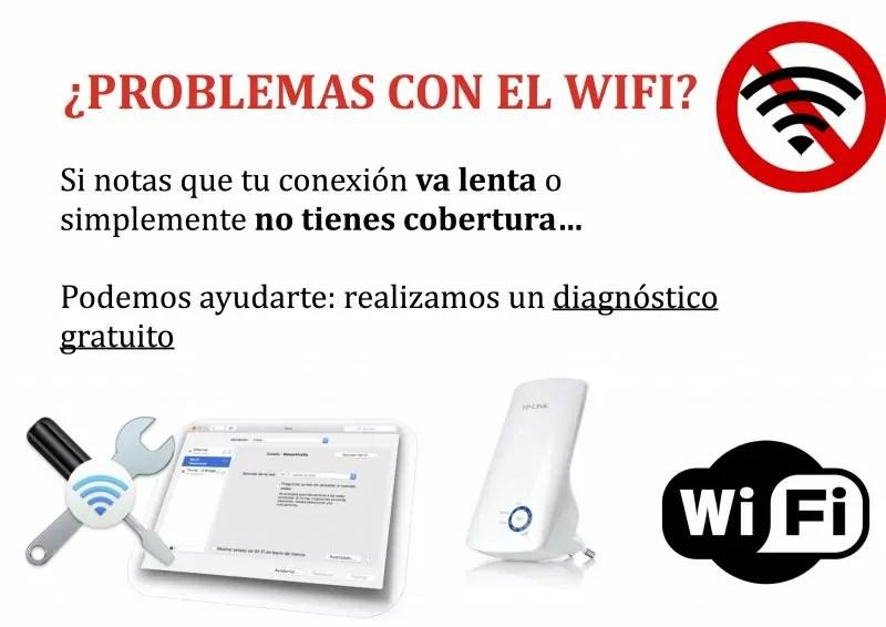 ¿Problemas con el Wifi?