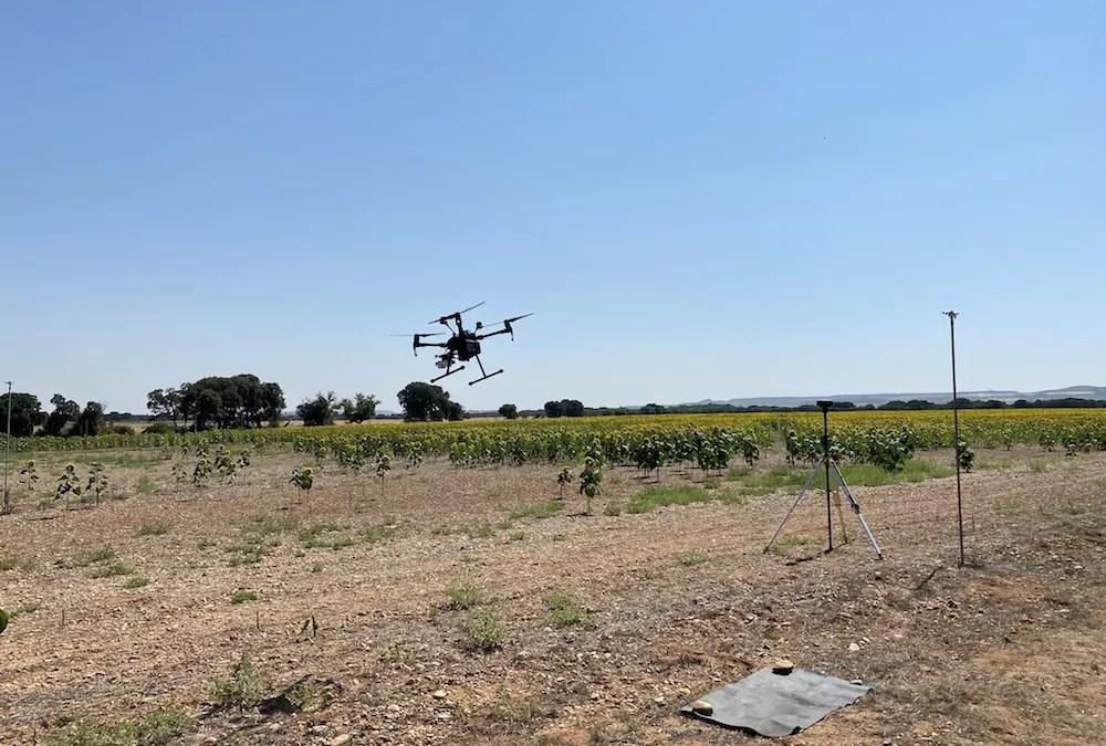Tecland en la gestión con drones de agricultura de precisión y medioambiente