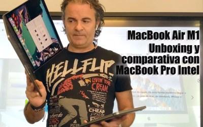 Nuevo MacBook Air con chip de Apple Silicon M1(vídeo)