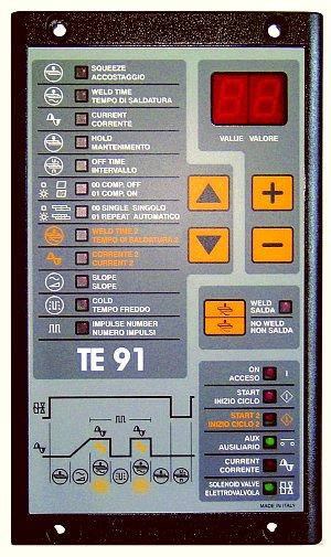 TECNA TE91 Controls | TECNADirect.com
