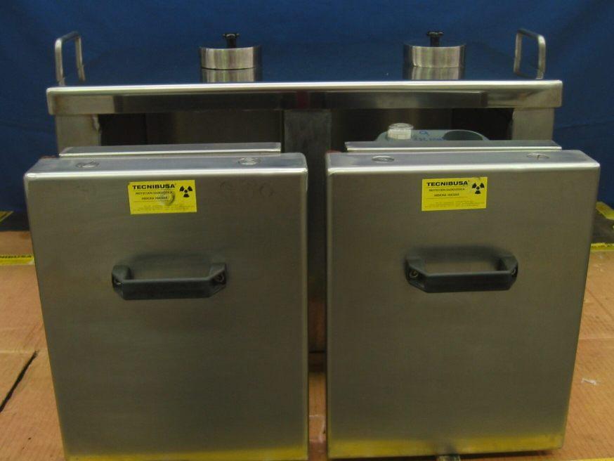 Alojamiento doble generadores tecnecio