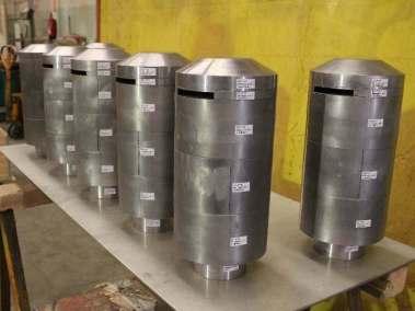 Blindaje detectores radiación ambiental