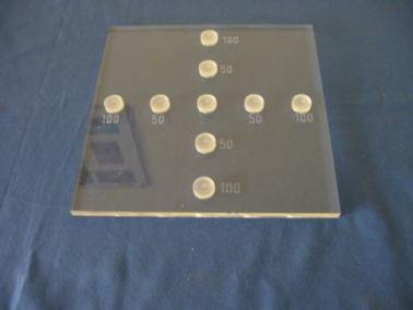 Maniquí de placa plana