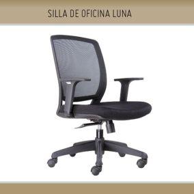 silla-oficina-luna  - Mobiliario de Oficina