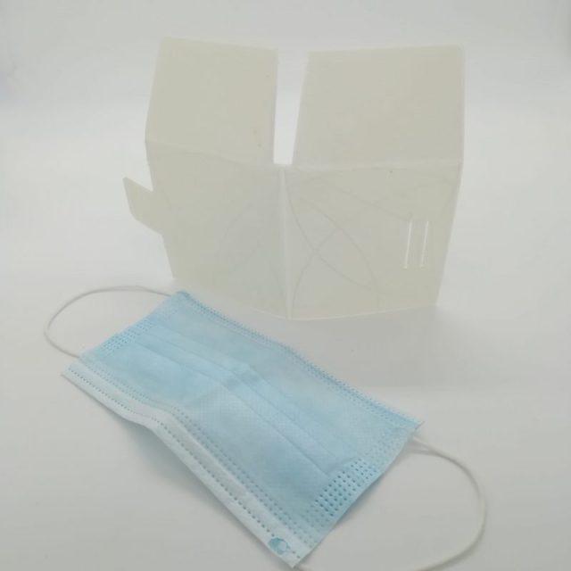 archivo impresión 3D funda mascarilla