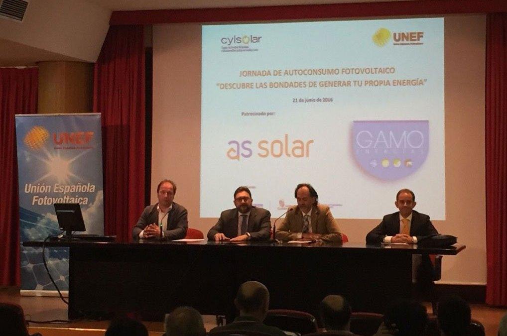 1ª Jornada de Autoconsumo en Valladolid