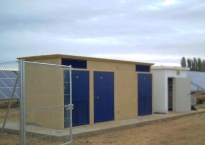 Parque fotovoltaico en «Ledigos» 190,08kWp
