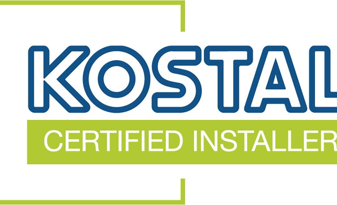 Instaladores certificados Kostal