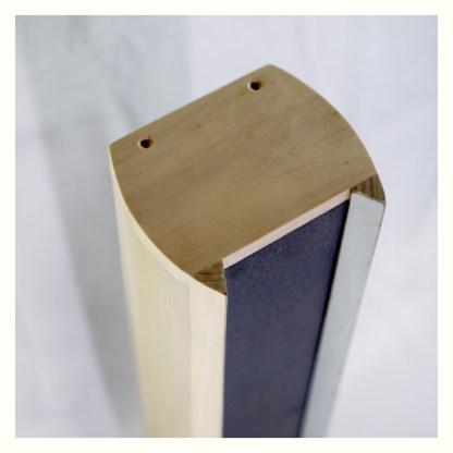 colonna acustica in legno