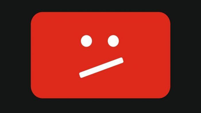 YouTube triste
