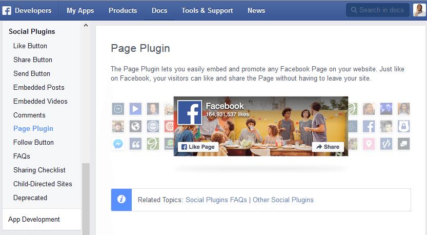 Como Adicionar o Facebook Page Plugin no WordPress