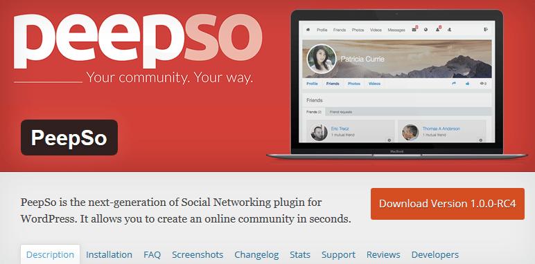 Interessado em Criar Uma Rede Social: WordPress Tem a Solução Para Si