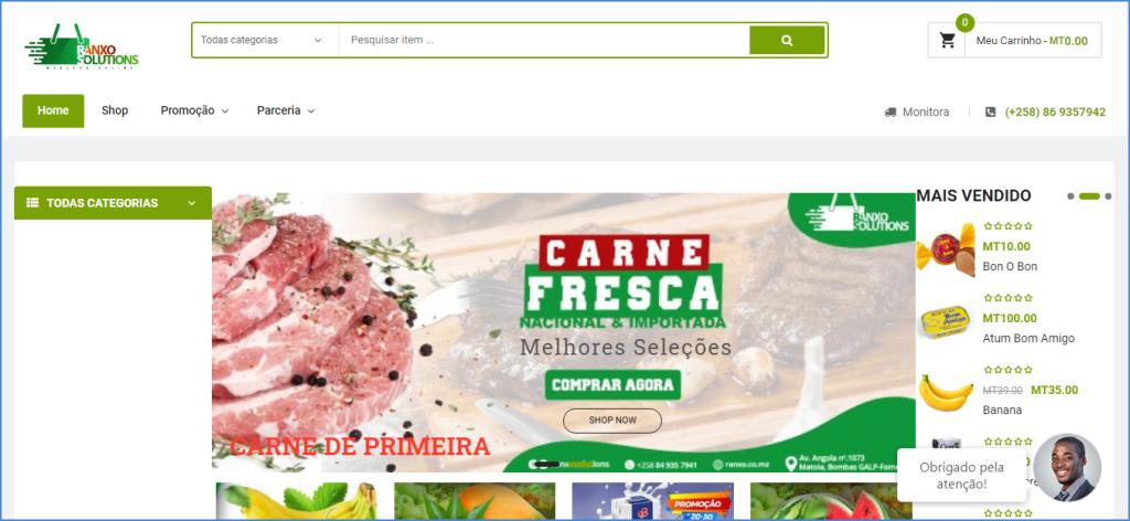 loja online em moçamnique