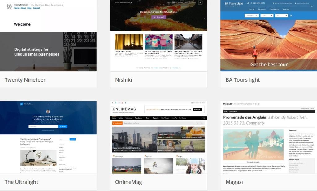 Criar Websites Com WordPress