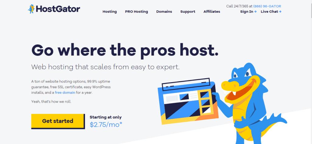 Instalar WordPress no Hostgator