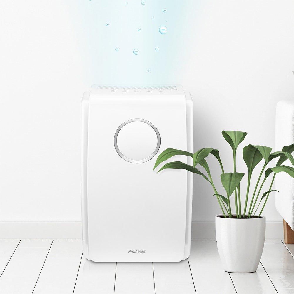 Si estás pensando en mejorar el aire de tu hogar, te presentamos el Purificador de Aire Pro Breeze 5 en 1 - Imagen 21 - TECNOFRIKIS