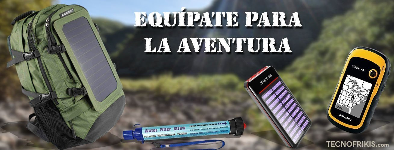 Kit de supervivencia para aventureros, amantes de la tecnología y el aire libre - Imagen 2 - TECNOFRIKIS