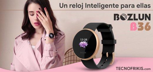 Bozlun B36 Lady, el reloj inteligente exclusivo para ellas - Imagen 52 - TECNOFRIKIS