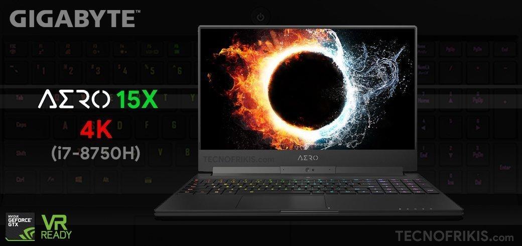 Gigabyte AERO 15X V8 4K, el mejor portátil gamer de 2019 - Imagen 8 - TECNOFRIKIS