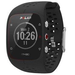 Polar M430 Reloj de Entrenamiento con GPS y Pulsometro de Muñeca, Unisex Adulto, Negro, M/L
