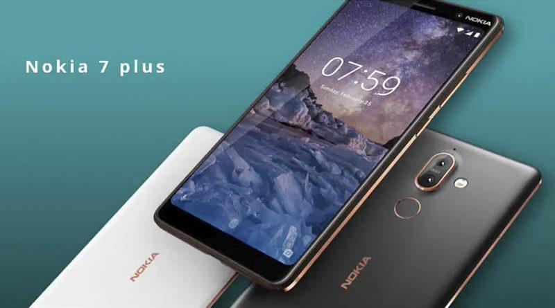 Especificações do Nokia 7 Plus