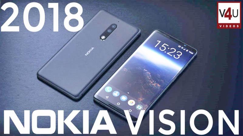 Nokia Vision 2018 terá design futurista com 8GB de RAM e câmera tripla