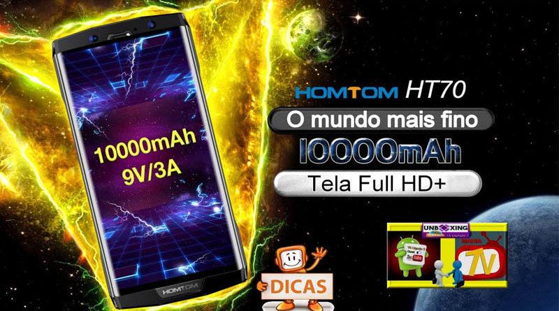Smartphone HOMTOM HT70 terá bateria de 10.000mAh (2)