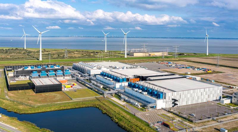 Google usa energia eólica e solar para compensar todo o seu uso de energia operacional