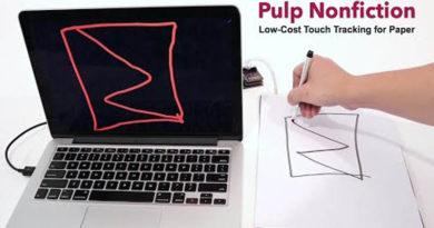 Pesquisadores desenvolvem papel barato e sensível ao toque para digitalizar textos