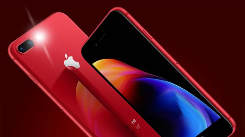 Preço e especificações do Iphone 8 e 8 plus edição RED