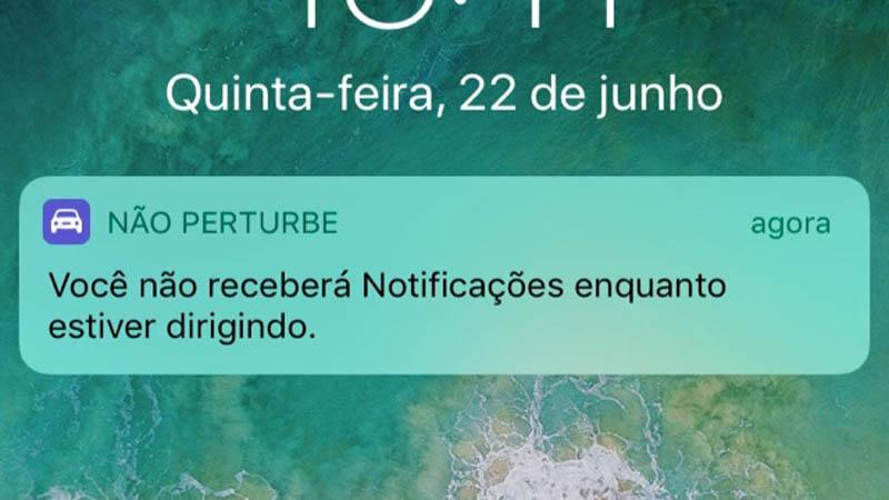 Recurso Não perturbe ao dirigir do iOS 11 apresentou impacto positivo, diz pesquisa