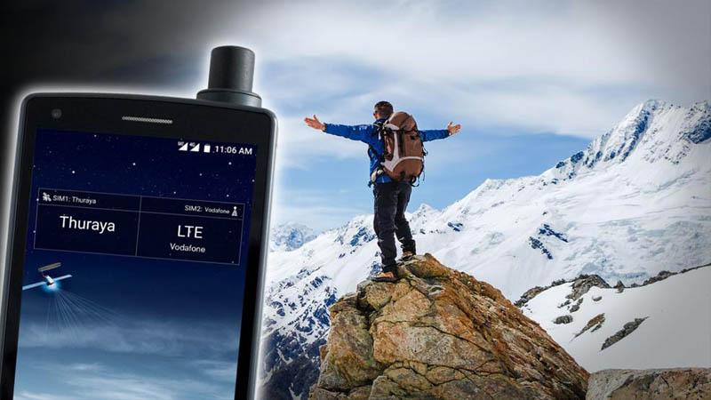 Thuraya X5-Touch é o primeiro smartphone via satélite do mundo (2)