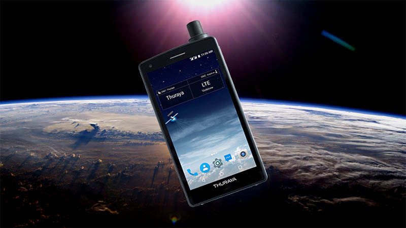 Thuraya X5-Touch é o primeiro smartphone via satélite do mundo