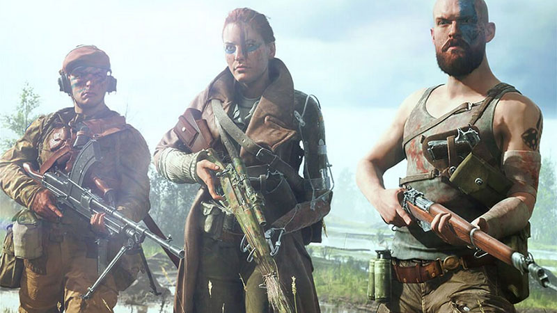 Battlefield V - Armas Combinadas
