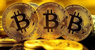 Bitcoin - Valor da criptomoeda Bitcoin está aumentando aos poucos