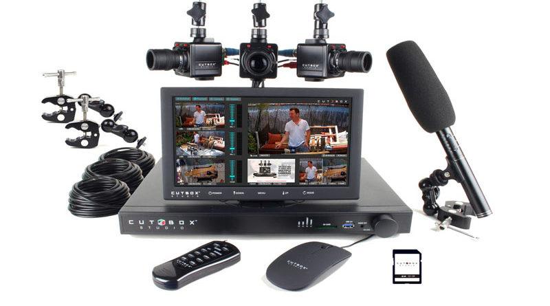 Cutbox - Mini estúdio de TV onde você tem o controle de várias câmeras