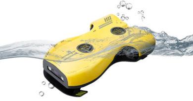 Drone subaquático Nemo promete mais autonomia graças a uma poderosa bateria
