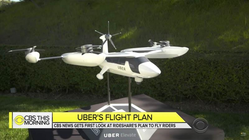 Este é o primeiro protótipo de táxi aéreo da Uber